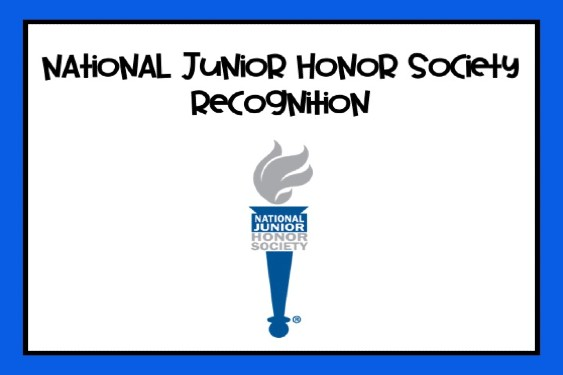 National Junior Honor Society Inductees