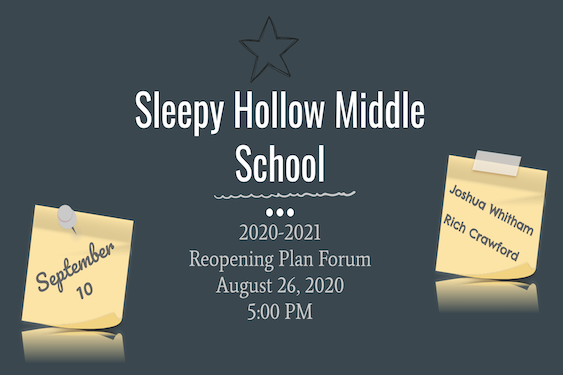 Sleepy Hollow Middle School Reopening Presentation