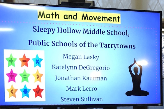 Ms. Lasky Receives Grant to Incorporate Math & Movement