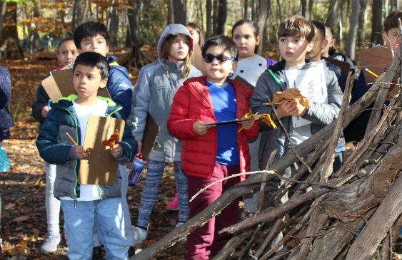 WI Students learn at The Peabody Preserve