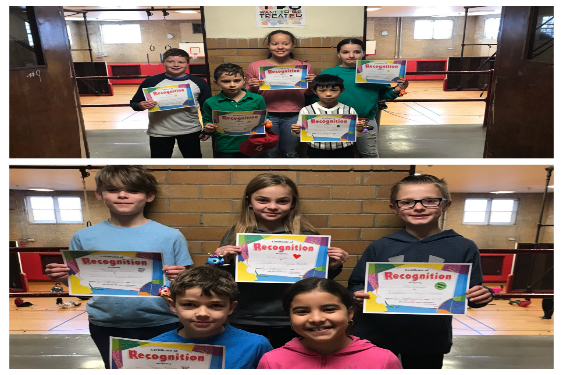 January and February Students of the Month