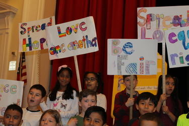 Morse students celebrate the legacy of Dr.Martin Luther King, Jr.