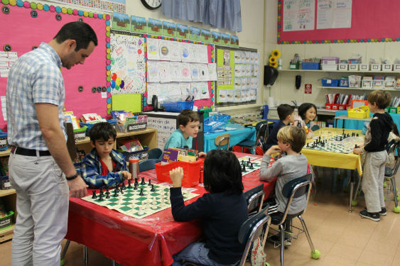 Morse students play chess each and learn valuable skills.