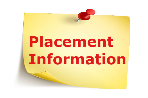 placement information