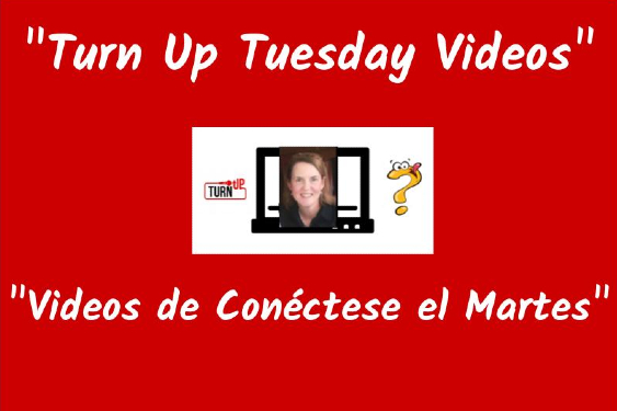 Turn Up Tuesday Videos with Mrs. Barnett / Videos de Conectese para de la Srt. Barnett