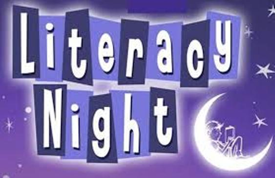 Kindergarten Parents:  Sign Up Here for our Literacy Night on 11/9/18