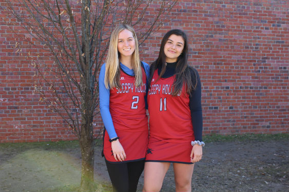 Sara Clark and Grace Hille will attend the Bruce Beck Sports Broadcasting Camp this summer.