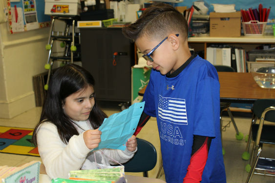 Morse students share poems as part of Poem in You Pocket Day