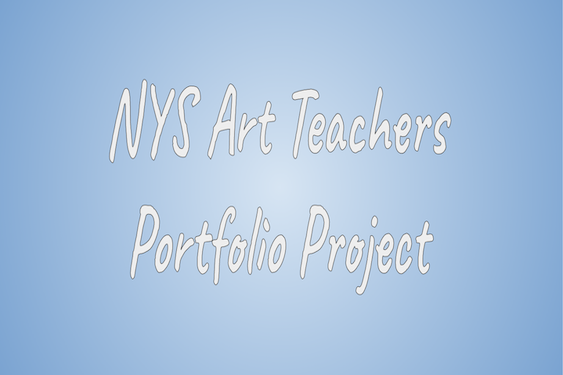Middle School Art Students Participate in NY State Portfolio Project