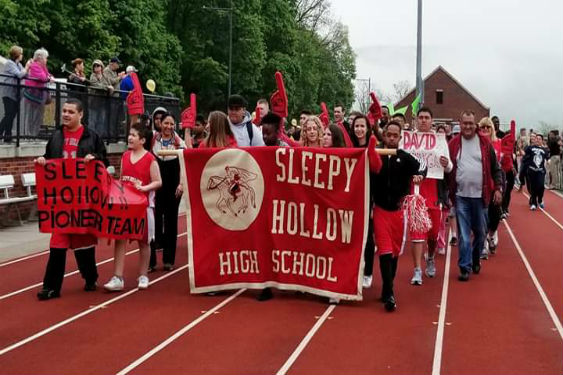 The Sleepy Hollow Pioneer team competed on May 4, in track and field at the Special Olympics .