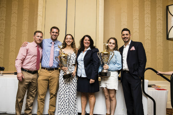 Student Athletes received awards at annual dinner.