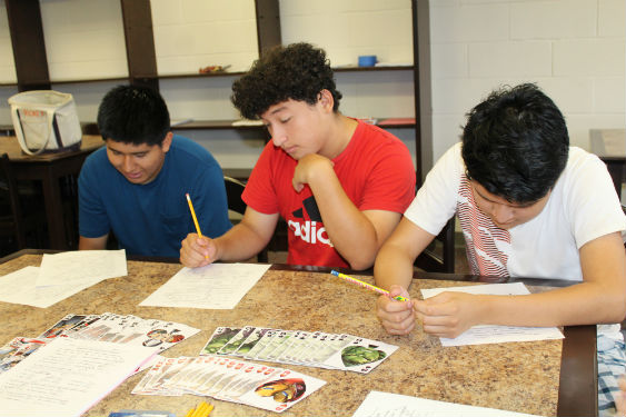 SHHS students take challenging courses in this summer's boot camp.