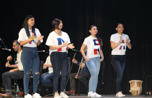 ENL students perform songs from their Latin American roots.