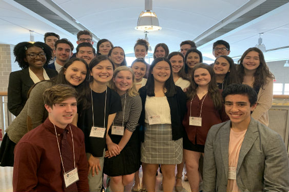 Twenty-three Sleepy Hollow High School Science Research sophomores participated in their first scie